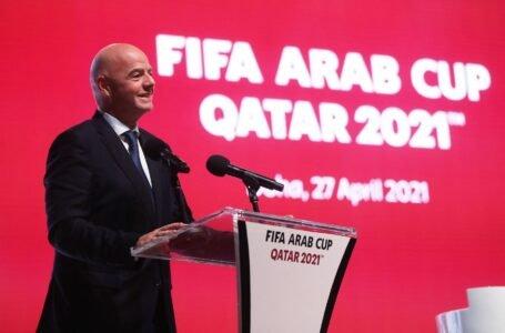 """Gianni Infantino: """"Para que el fútbol sea global pensemos en un mundial cada dos años"""""""