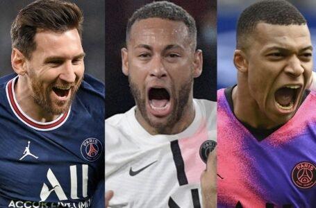 Messi, Neymar y Mbappé: el tridente invisible más costoso del mundo