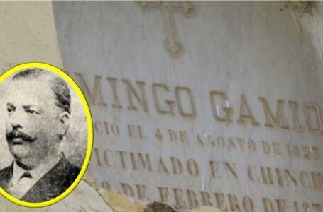 Presidente del Perú y un héroe sepultados en Huánuco