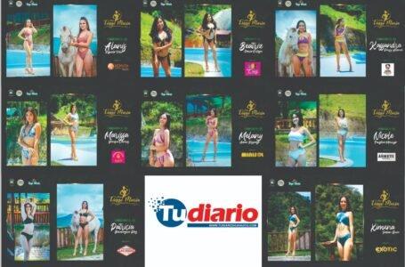 Ocho candidatas van por la corona de 'Miss Tingo María'