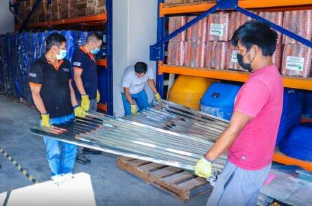 Entregan ayuda a familias afectadas por vientos fuertes en Monzón