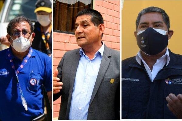 Fiscalía Anticorrupción tramita 48 investigaciones contra Juan Alvarado, Luis Picón y Rubén Alva
