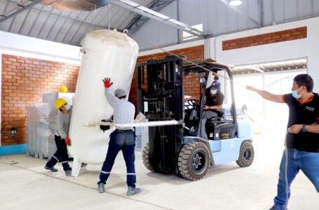 Instalan planta generadora de oxígeno en La Unión