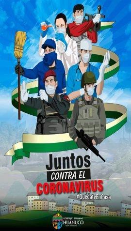 juntos contra el coronavirus gobierno regional de huanuco